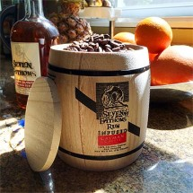 Rum Infused Coffee Barrel